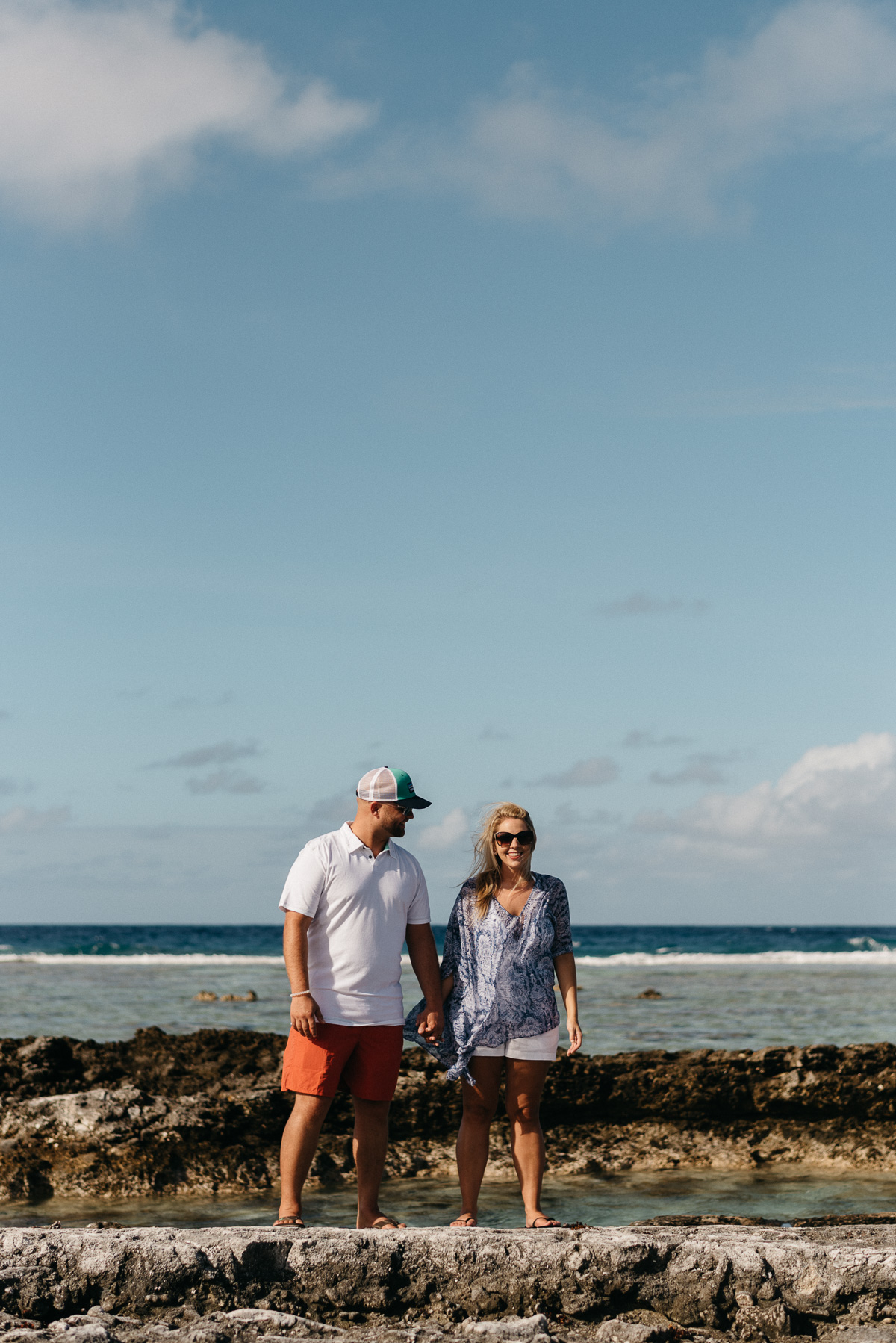 Destination Honeymoon photography at the south pacific