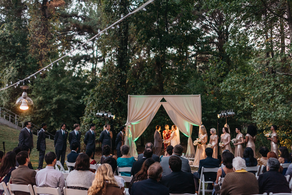 Mississippi Indian Fusion wedding photography at MS Crafts Center