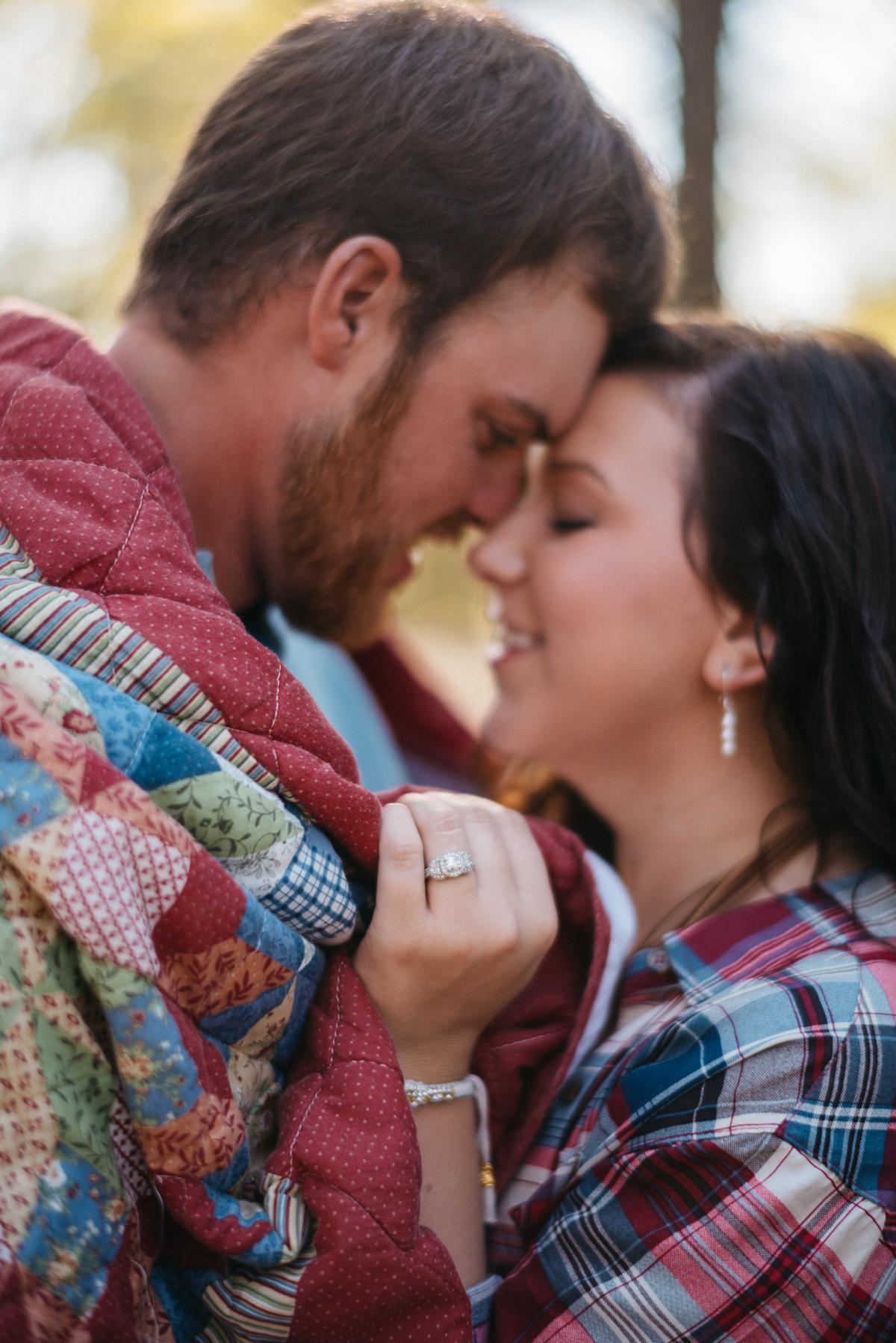 Engagement photography at Grand Gulf Military Park near Vicksburg, Mississippi