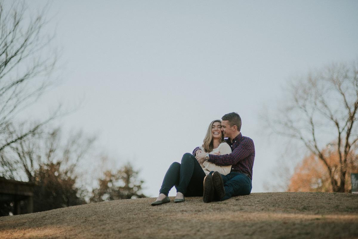 overton park memphis engagement photography