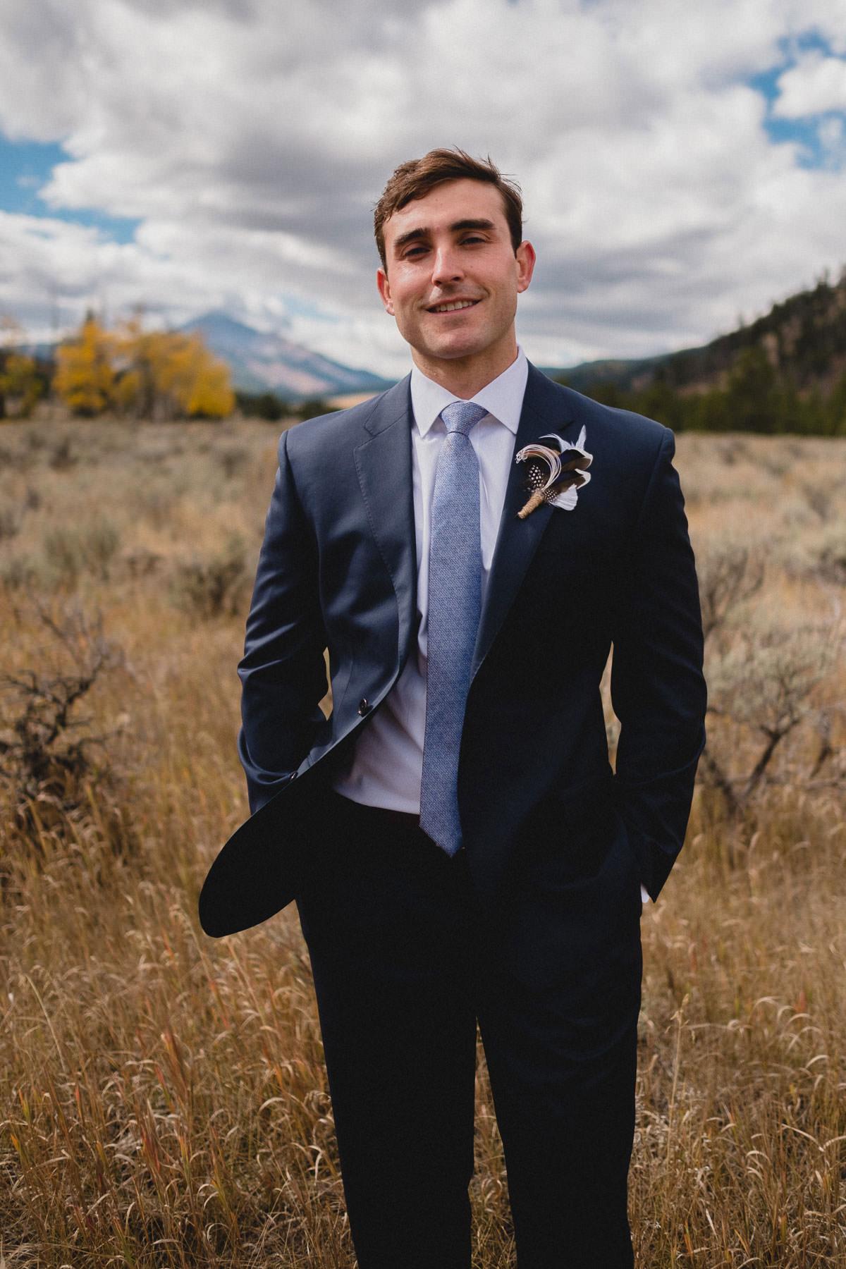 destination wedding photography in big sky montana