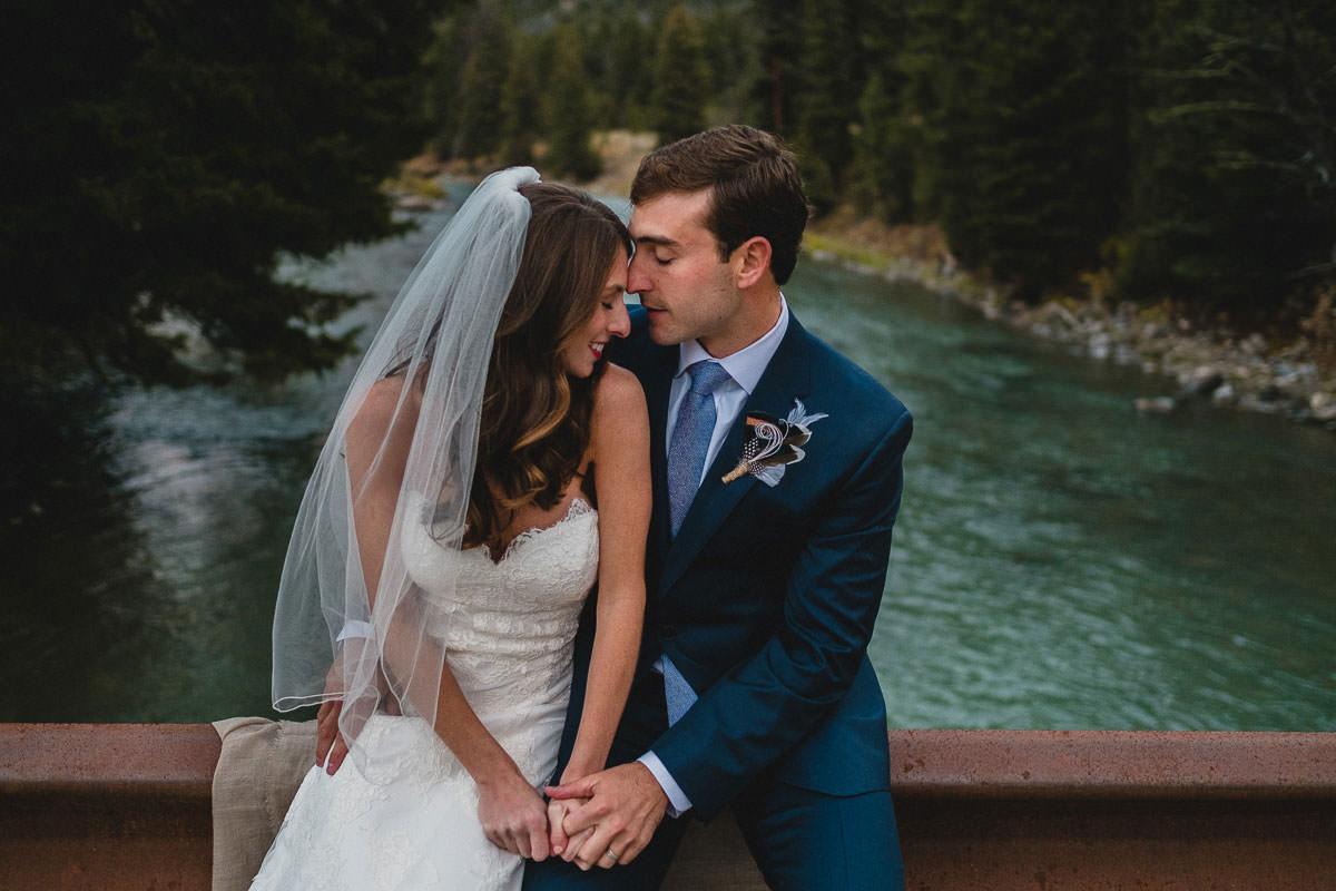 destination wedding photography at rainbow ranch near big sky montana
