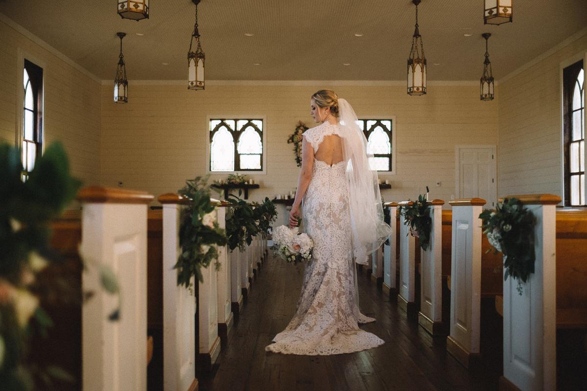 southern chapel wedding photography