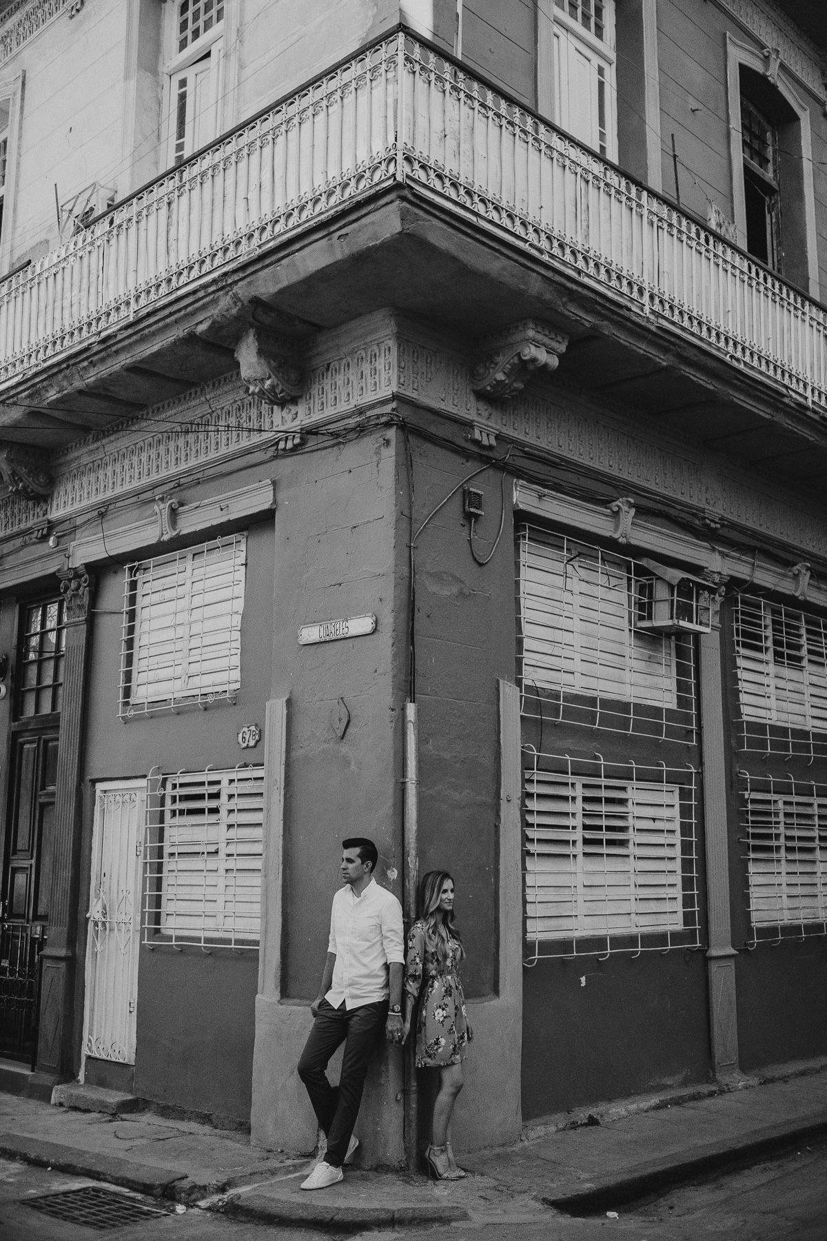 couple portrait session with destination wedding photographer danny k photography in havana, cuba