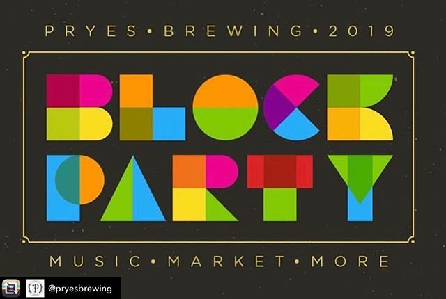 BLOCK PARTY this Saturday 1-7pm @pryesbrewing stop by our booth #shoplocal #mn #onlyinmn #saintminneapolis #minneapolis #saintpaul #beer
