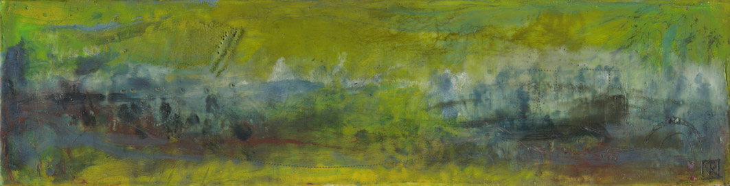 L'ISLE SUR LA SORGUE ~ ENCAUSTIC & MIXED MEDIA ON BOARD