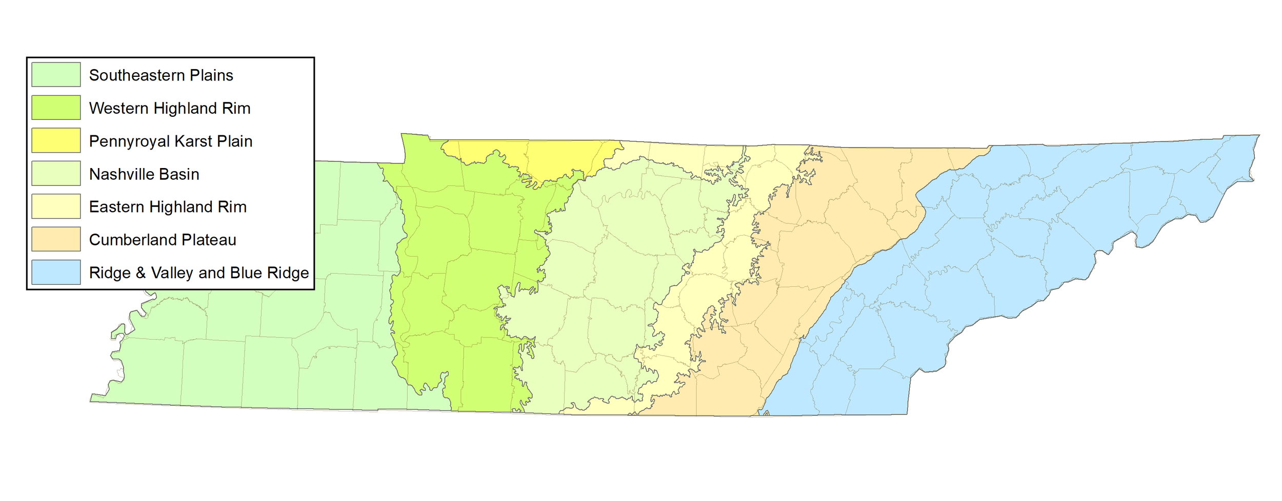 If you aren't sure which region you're surveying in, refer to this map.