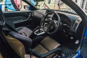 The interior is rather basic with a personal steering wheel, Workbell Rapfix GTC steering hub. The Recaro SPG3 also provides ultimate support for going around the track. After all, the intention of the build is to create track car where I can also take it on the street.