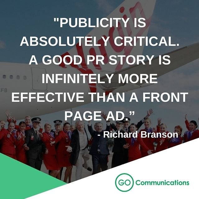 Richard Branson on the importance of PR! #onthego #communications #publicrelations #pr #marketing #digitalmarketing #malaysia #kualalumpur #agencylife #work