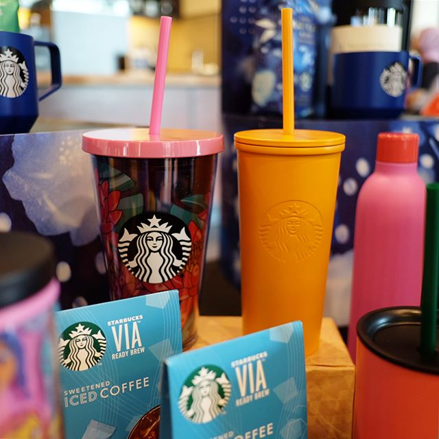 @mystarbucks launches two new bold limited-edition #Frappuccino flavours! No summertime sadness for us here! 🌴 #MYStarbucks #ShowYourFlavor #GetTheFeels