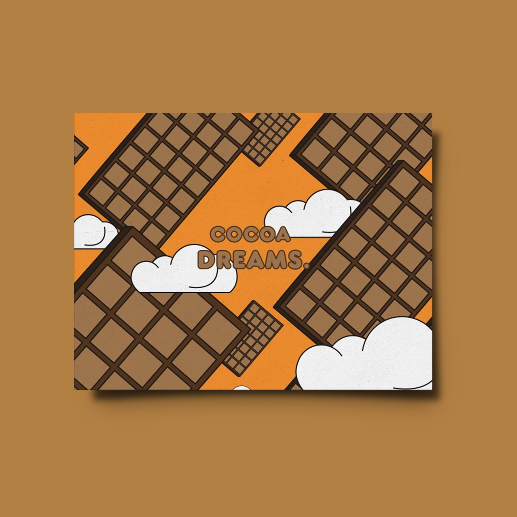 Chocolate Wrapper Insert