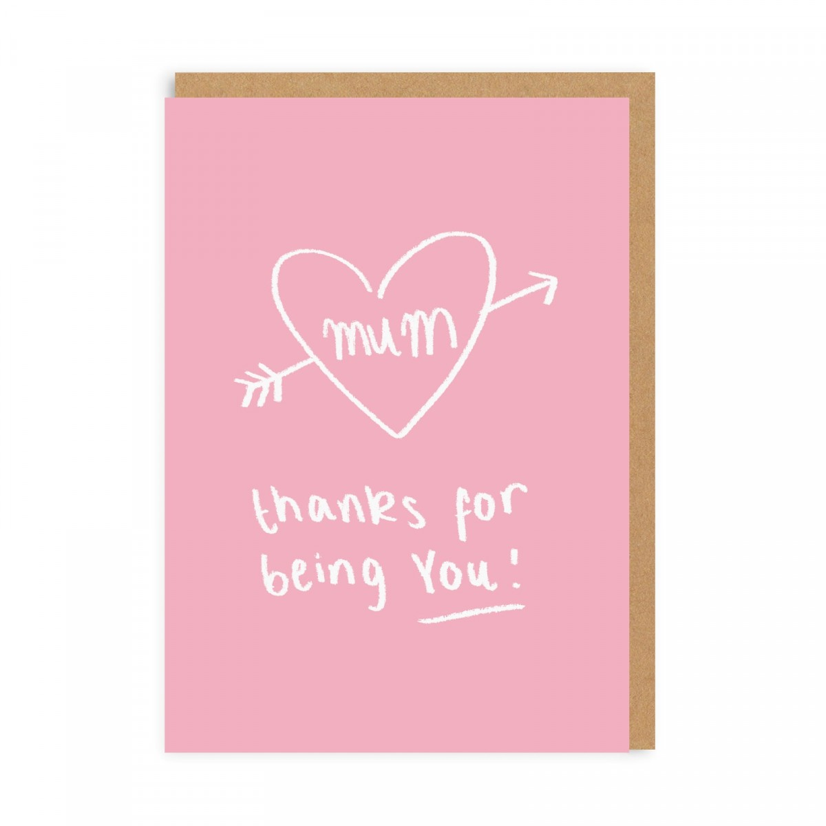 Thanks For Being You! - Because if she wasn't herself, she wouldn't be your mum would she? Complete with menopausal outbursts.