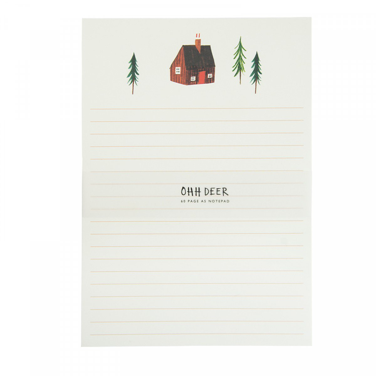 Alpine Lodge A5 Notepad - Shopping lists, they're a thing your mum makes right? Write them in style with a tastefully designed version featuring cute trees!