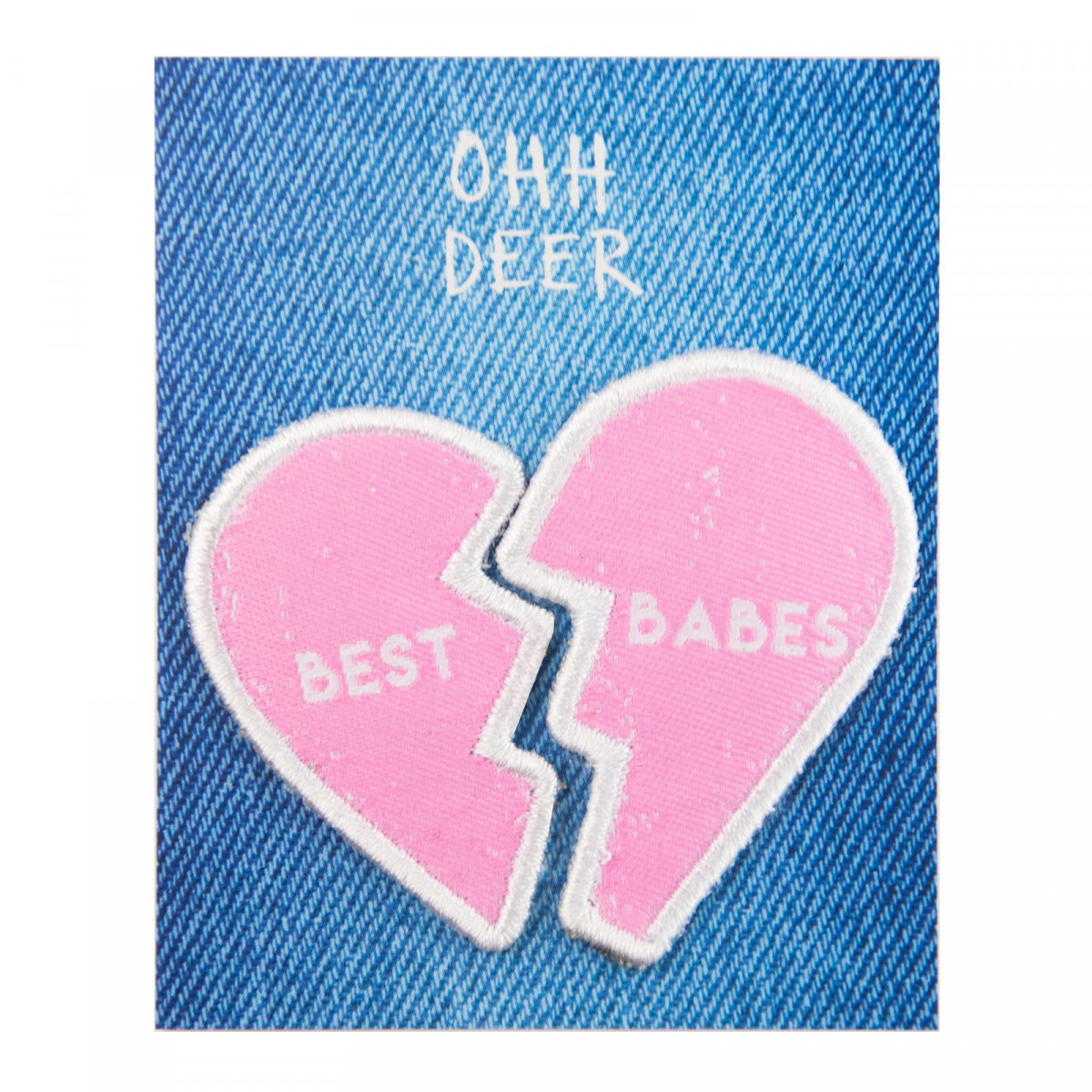 Best Babes Patches - She's your best friend at the end of the day, so give her a friendship patch! You'll both look super cute with these iron-on bad boys.