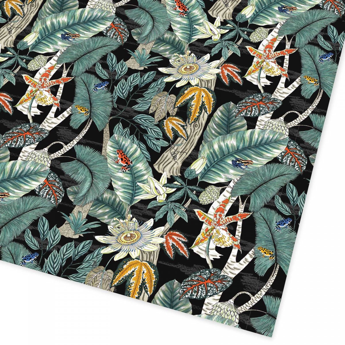 Rainforest Gift Wrap - Elegant yet cool! It even has lil' froggies on it.