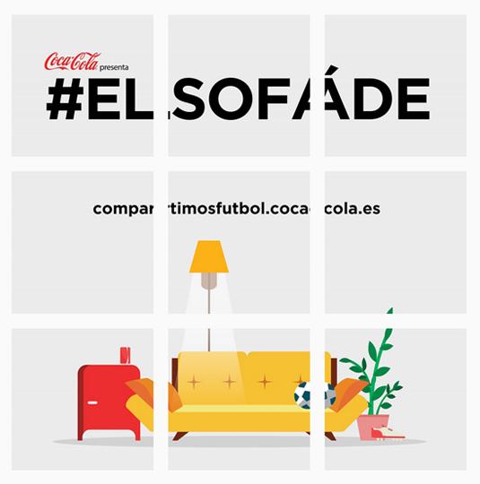 Instagram Portfolio Coca Cola Ad