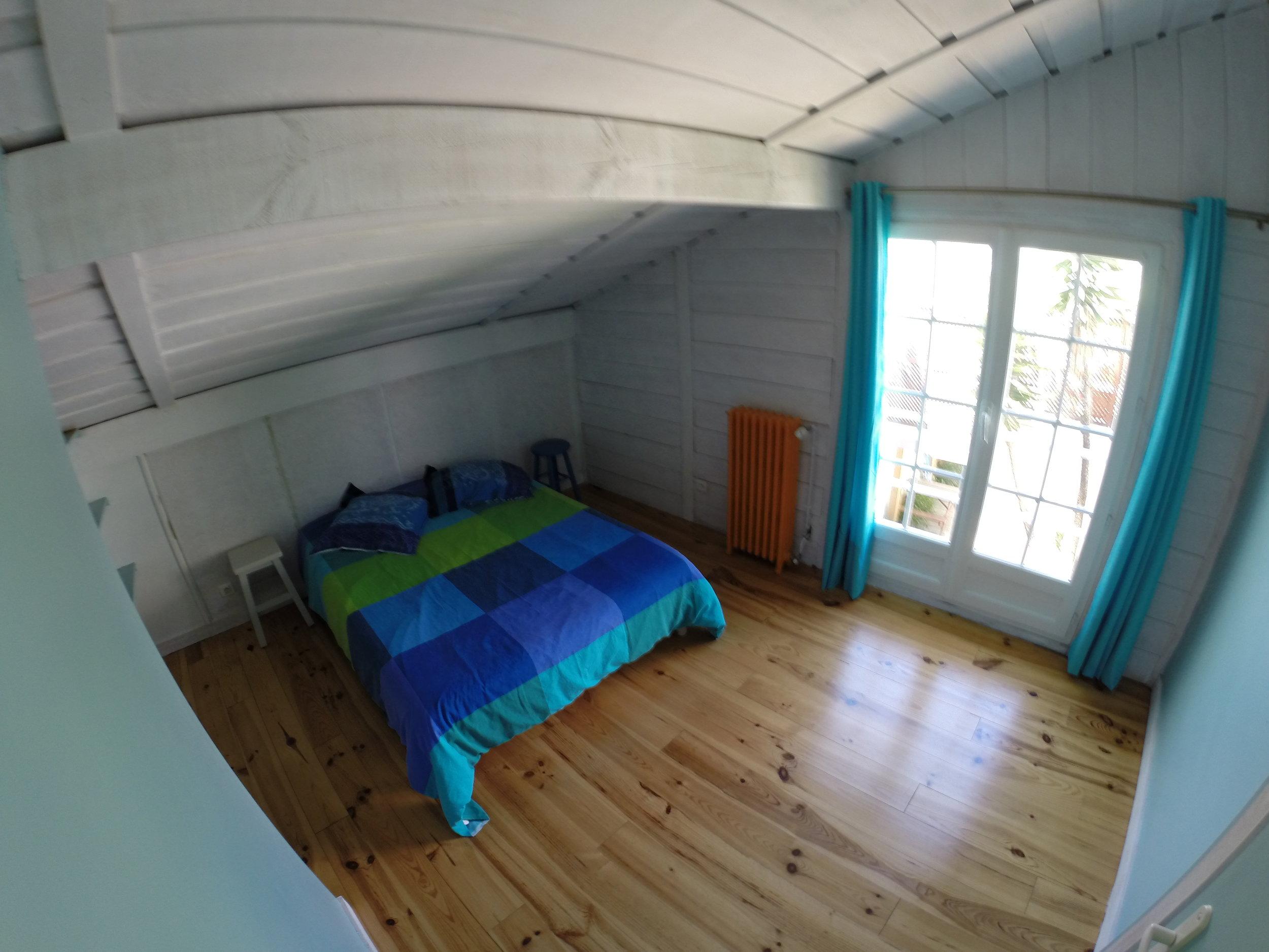 surf camp biarritz Maison Surf House, la cote des basques - chambres