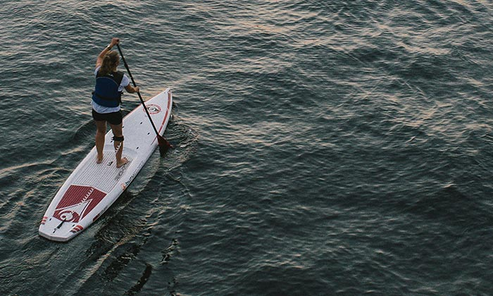 Stand Up Paddle àBiarritz -