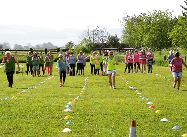A classic Egg & Spoon race #schoolsports #henparty #scottishwedding #belltent #scottishhen #havingafieldday  #perthshirewedding
