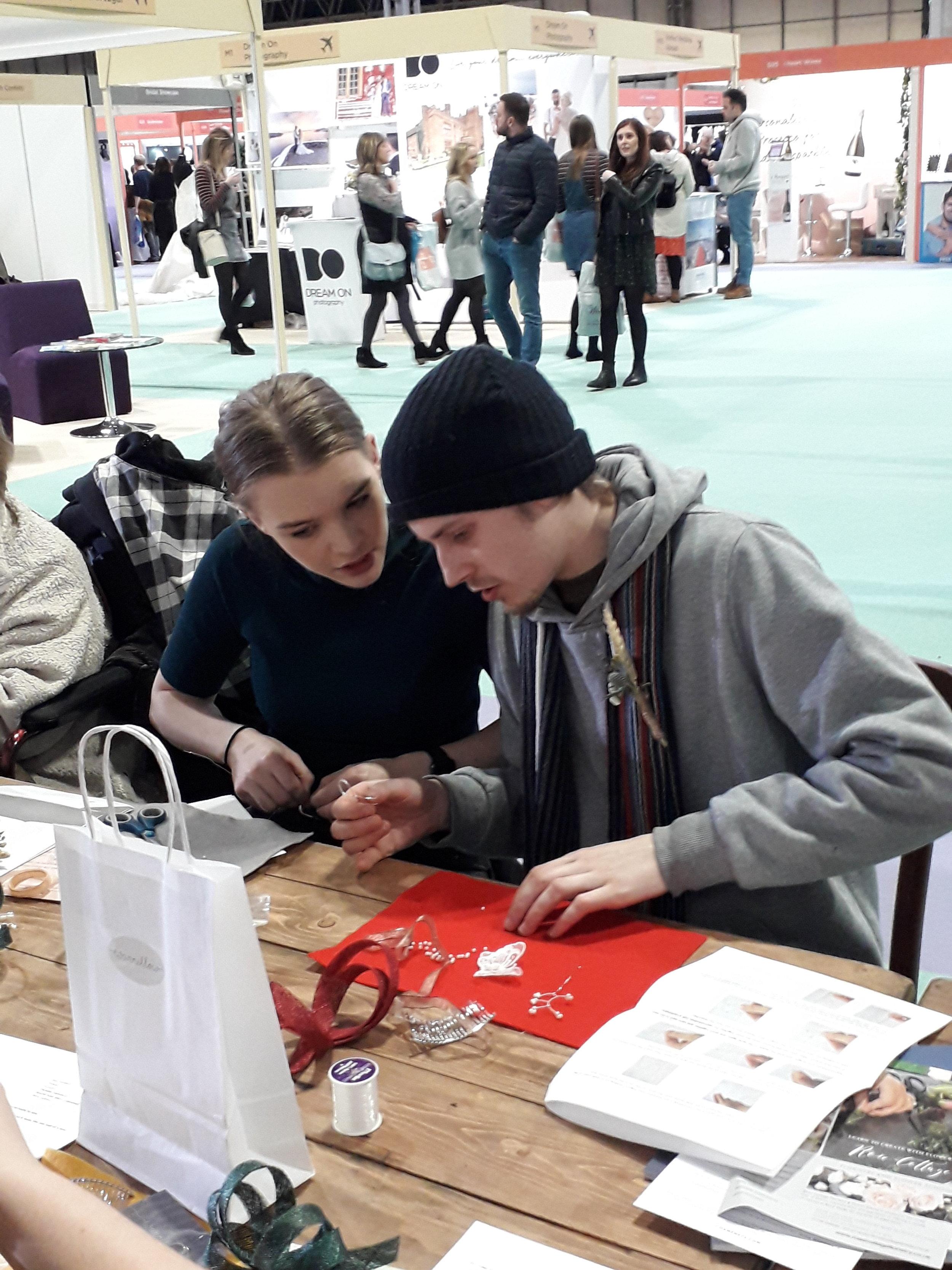 fascinator making workshops and kits