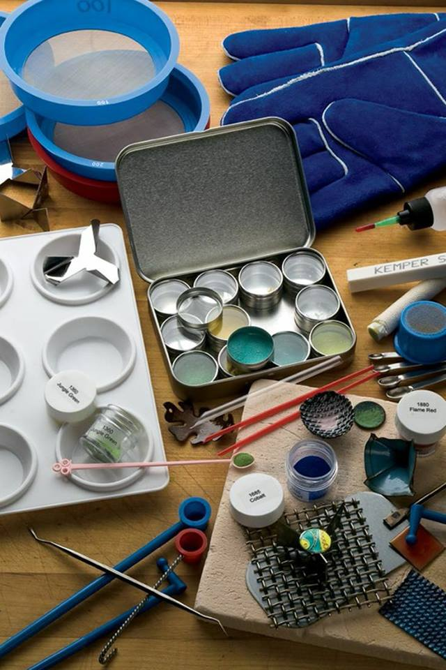 Come and learn the art of enamelling and jewellery making on these 2 week taster workshops this Summer.  Create handmade jewellery pieces while learning how to apply glass enamel to copper using powdered glazes then fire in a small kiln for instant results! Techniques covered include stencil work, silver foil application and cloisonné. cut shapes from copper then decorate using hammering techniques. Simple wire work to include piercing, chain links and jump rings is also included.  You with be encouraged to plan and design your work to enable you to create your unique jewellery  Course fee is £60 for 2 classes all materials included. Book your first class then choice from another date within the programme.  Expect fun and creativity!