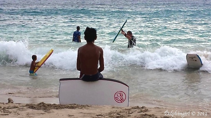 choosing a  wave…