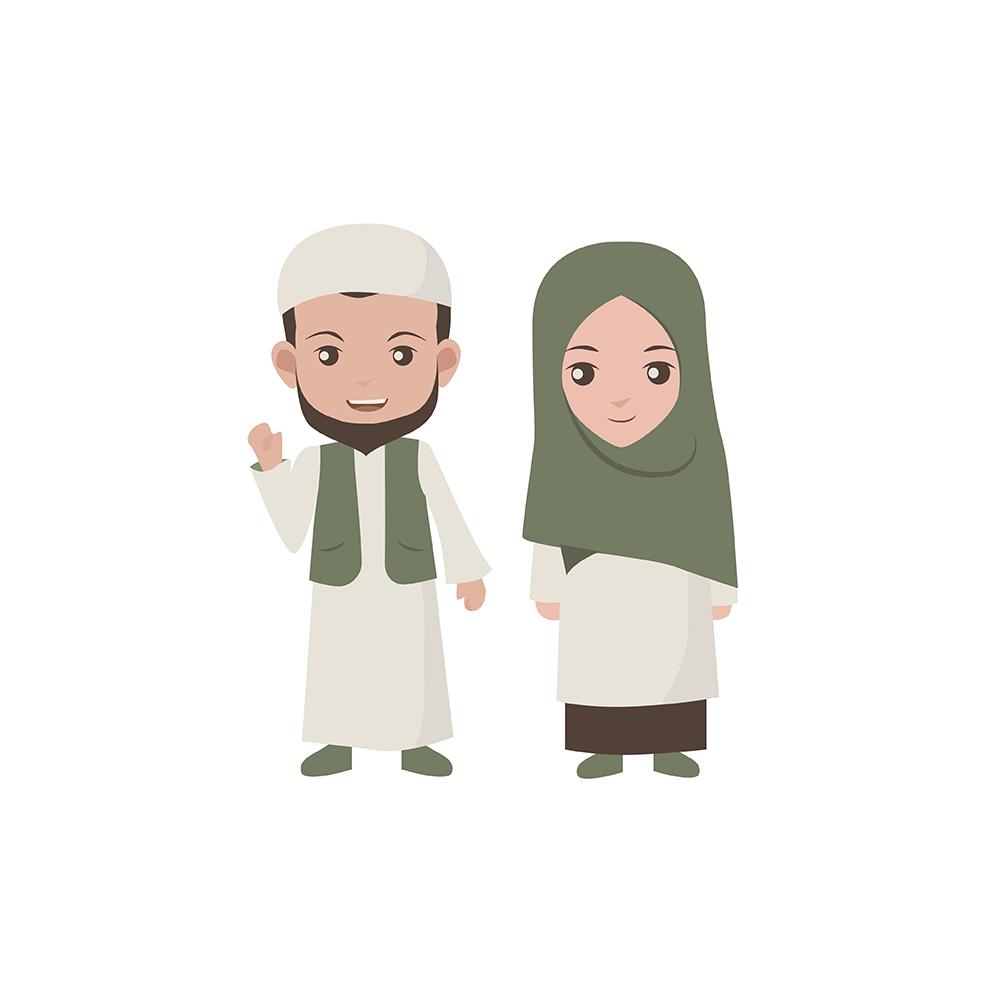 Muslim Brother & Sister