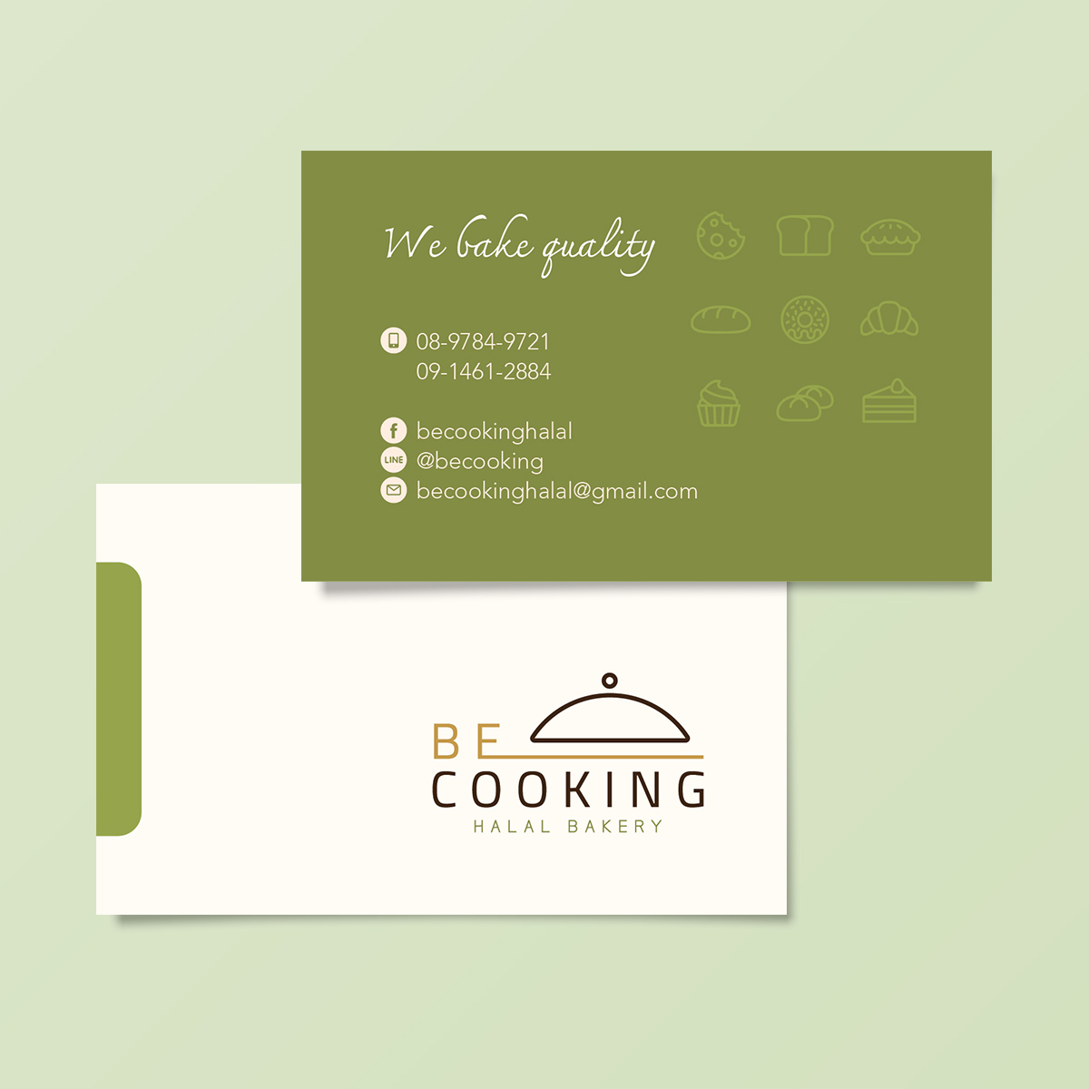 Be Cooking Card