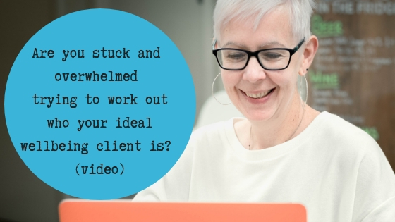 Are you stuck and overwhelmed trying to work out who you ideal client is?