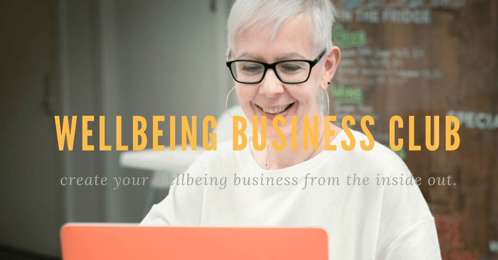 Come and be social over in my private Facebook group. - Wellbeing business club is a growing international community of holistic therapists - yoga - mindfulness and wellbeing teachers with one goal in mind to create profitable sustainable businesses that hold the client at the heart of every business decision. The wellbeing business club is on a mission to help wellbeing entrepreneurs fill their practices and classes.LEARN MORE >