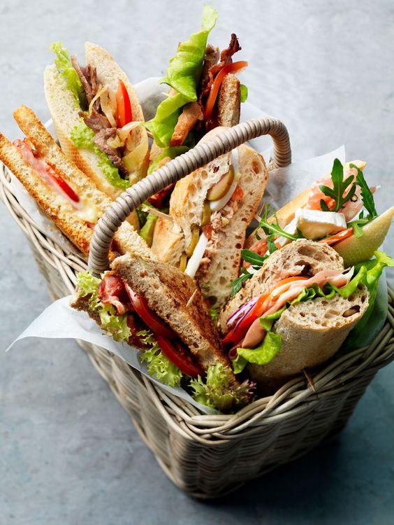 SANDWICHES & COLD PLATES -