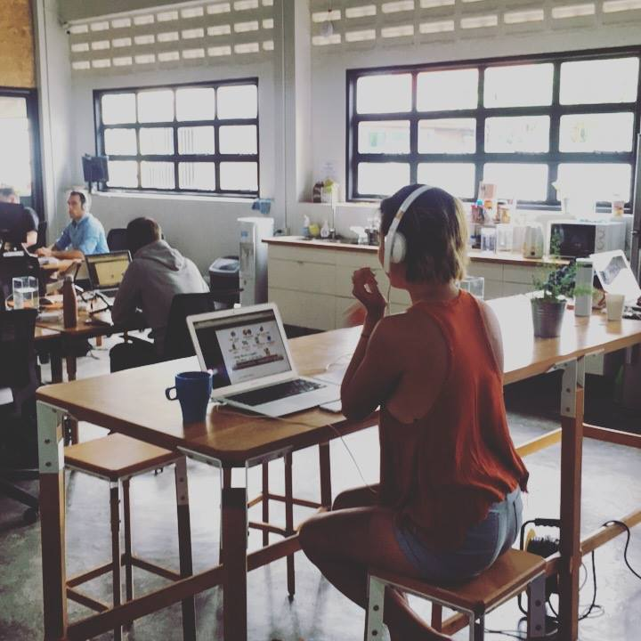 STUDY SPACES   You'll be a member of a modern co-working space in each city we go to