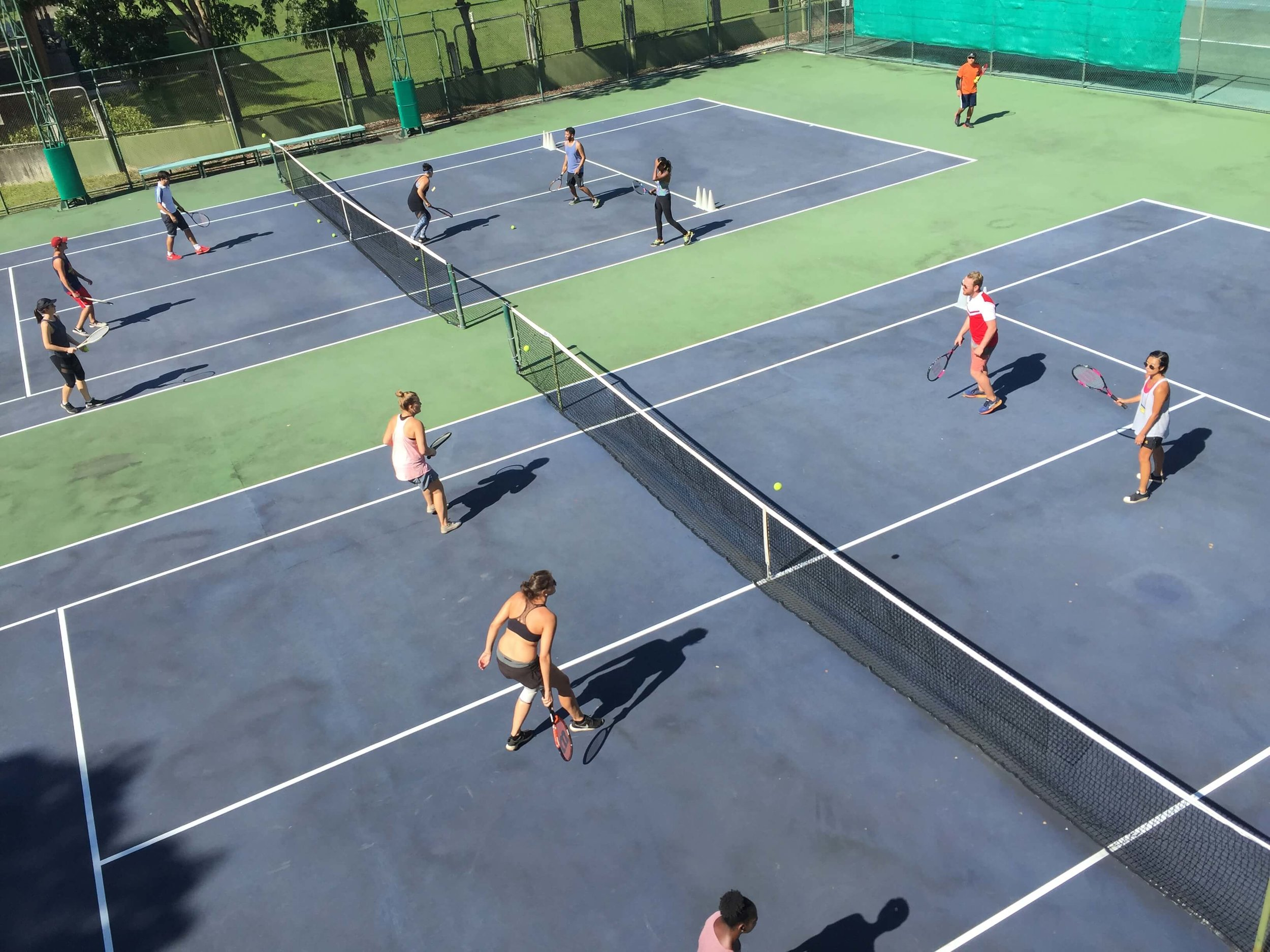 Whether it be the gym on your own or tennis with a group, pick an exercise that you enjoy.