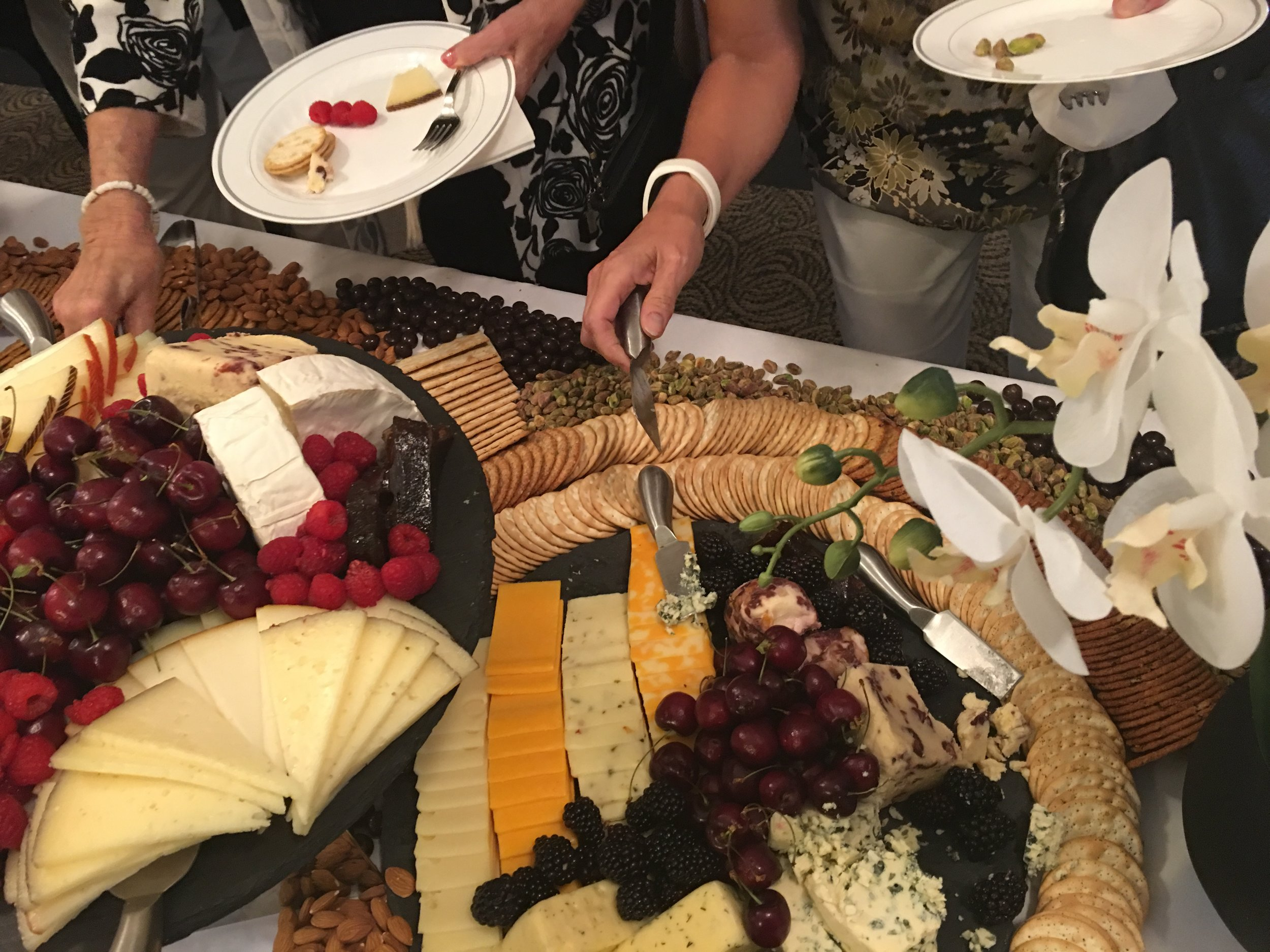 LUXE Catering Tallahassee Florida Cheese Board