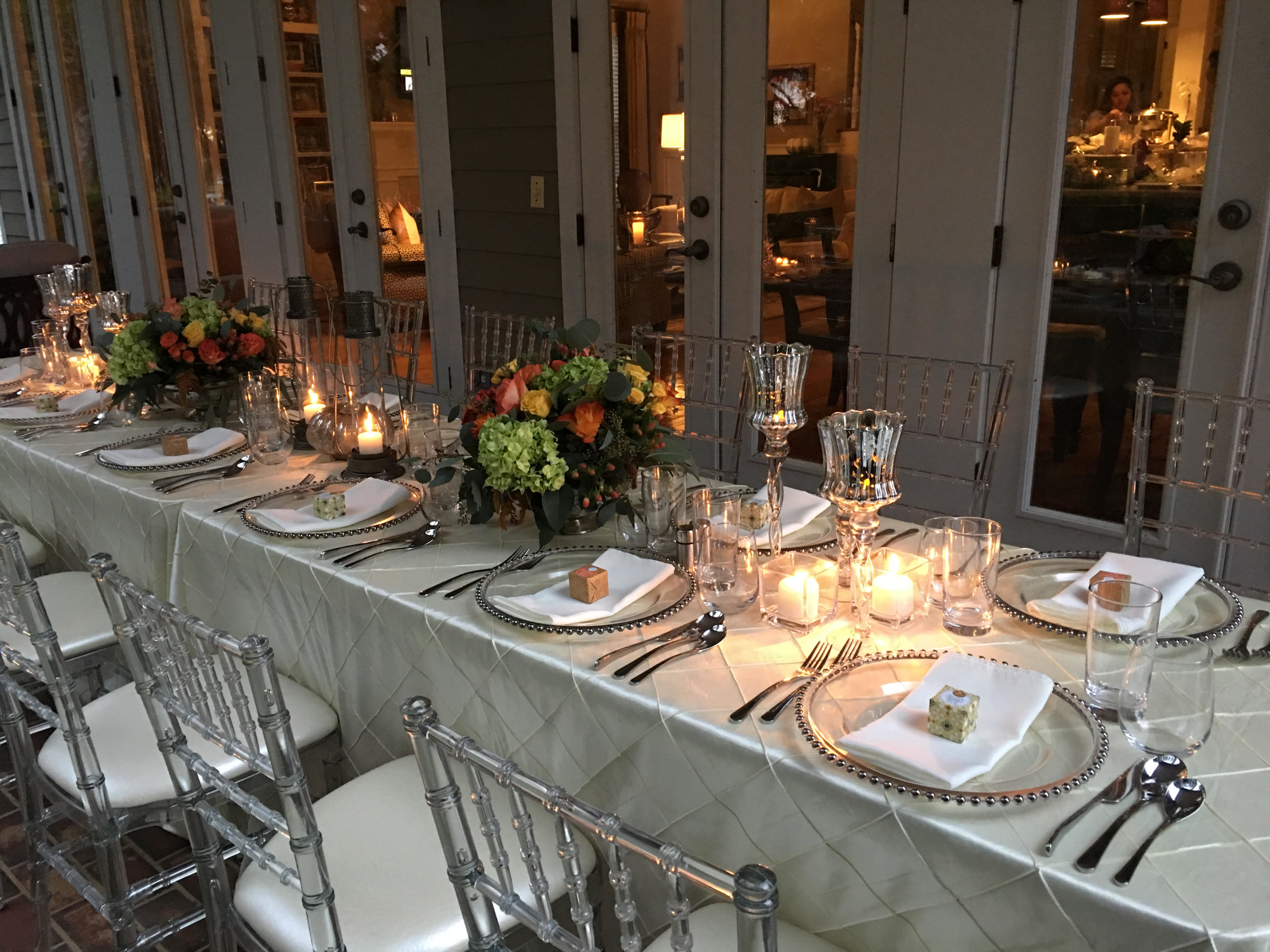 LUXE Catering Dinner Party