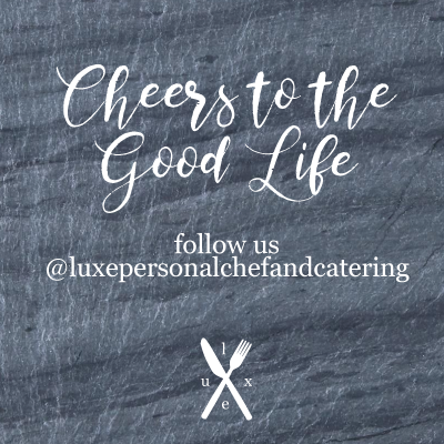 LUXE Catering Tallahassee Florida Instagram