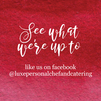 LUXE Catering Tallahassee Facebook