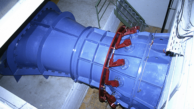 "Moderisierung Turbinensteuerung ""Obere Fabrik"""