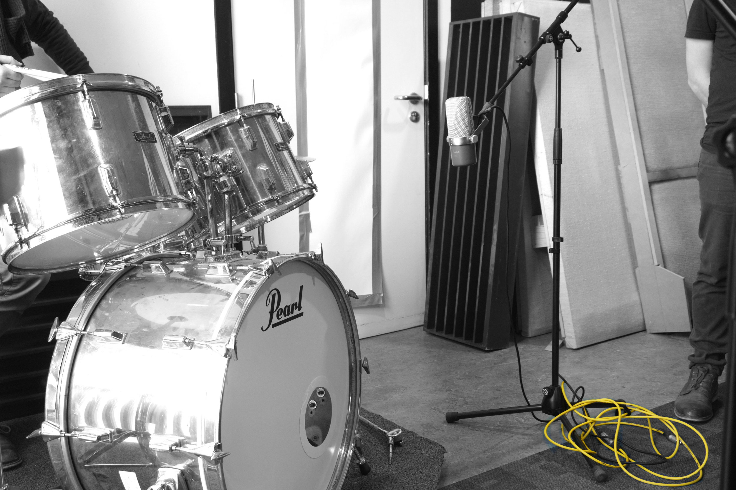 Workshop Drum Recording -