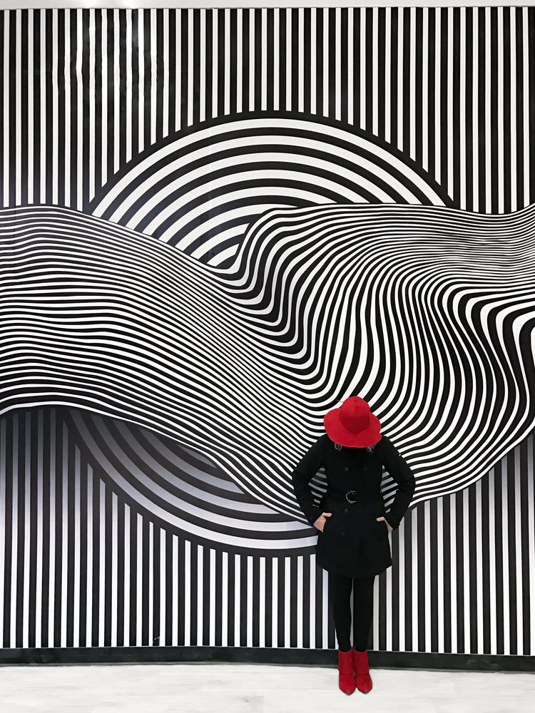 The Galleria Art Walls 2017
