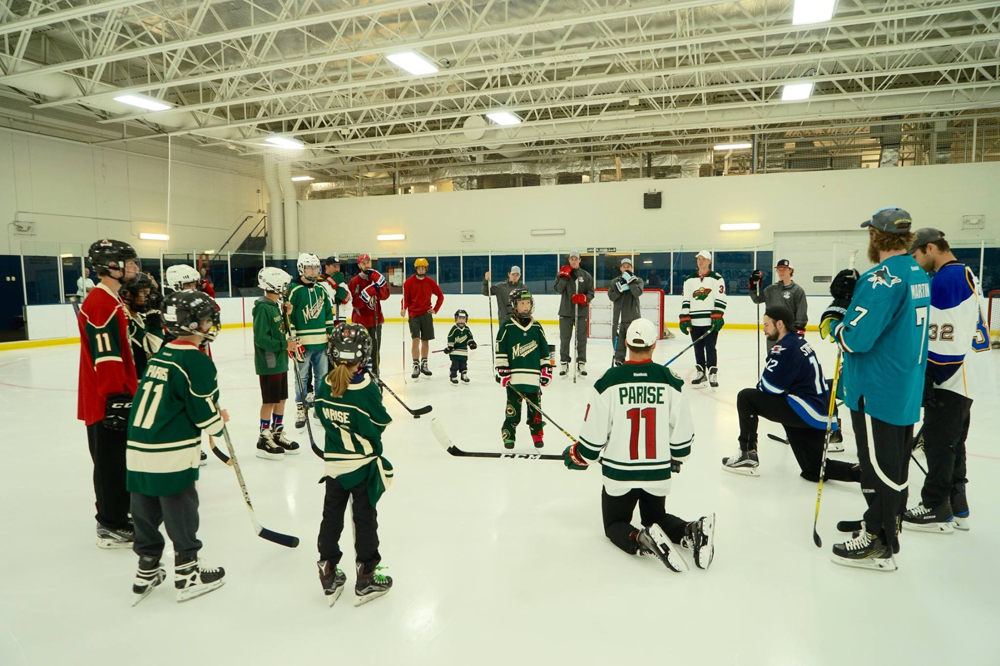 Skate with Zach Parise 2017