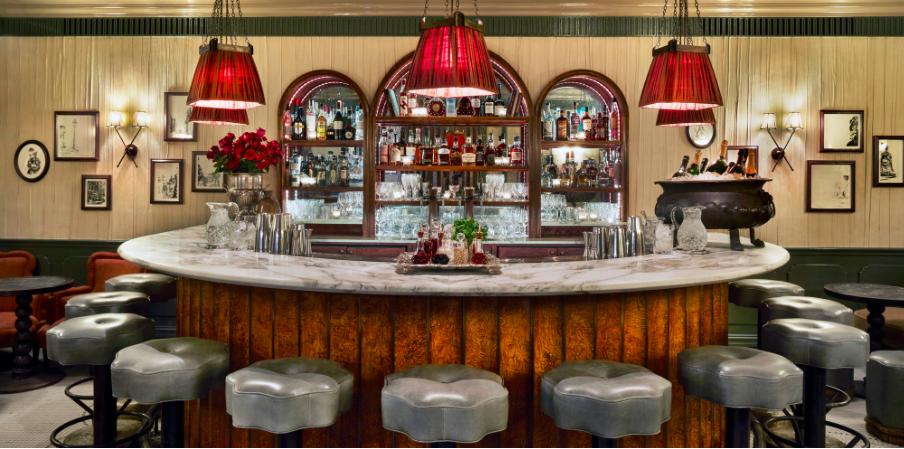 Kettner's Champagne Bar, London, 2018