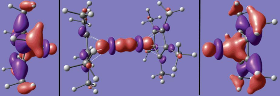 Density Functional Theory Investigation of Decamethyldizincocene                                    James W. Kress                        KressWorks, Northville, Michigan 48167                    J. Phys. Chem. A,2005,109 (34), pp 7757–7763                              DOI : 10.1021/jp051065x