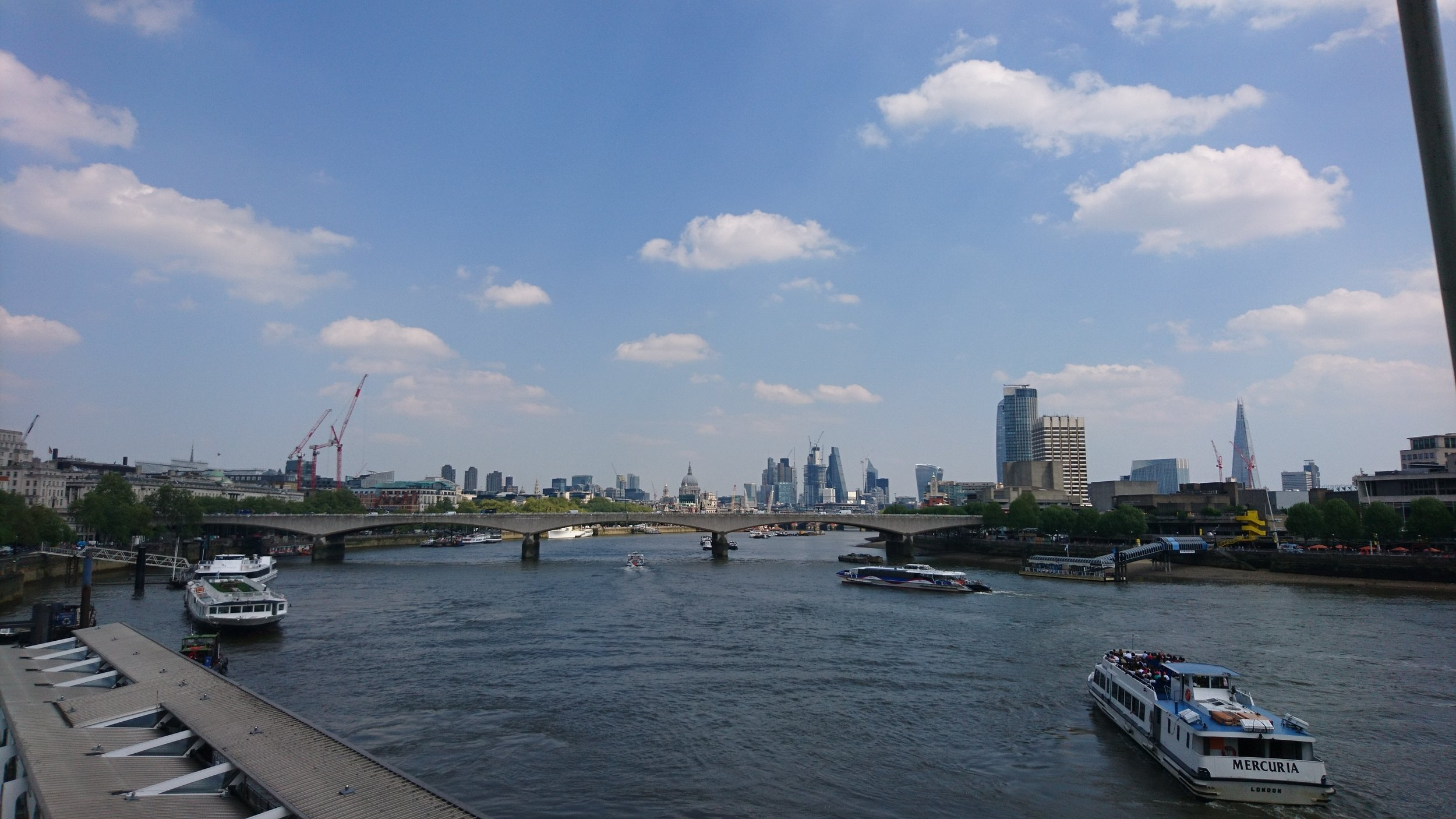 Mindfulness in London - View of the City
