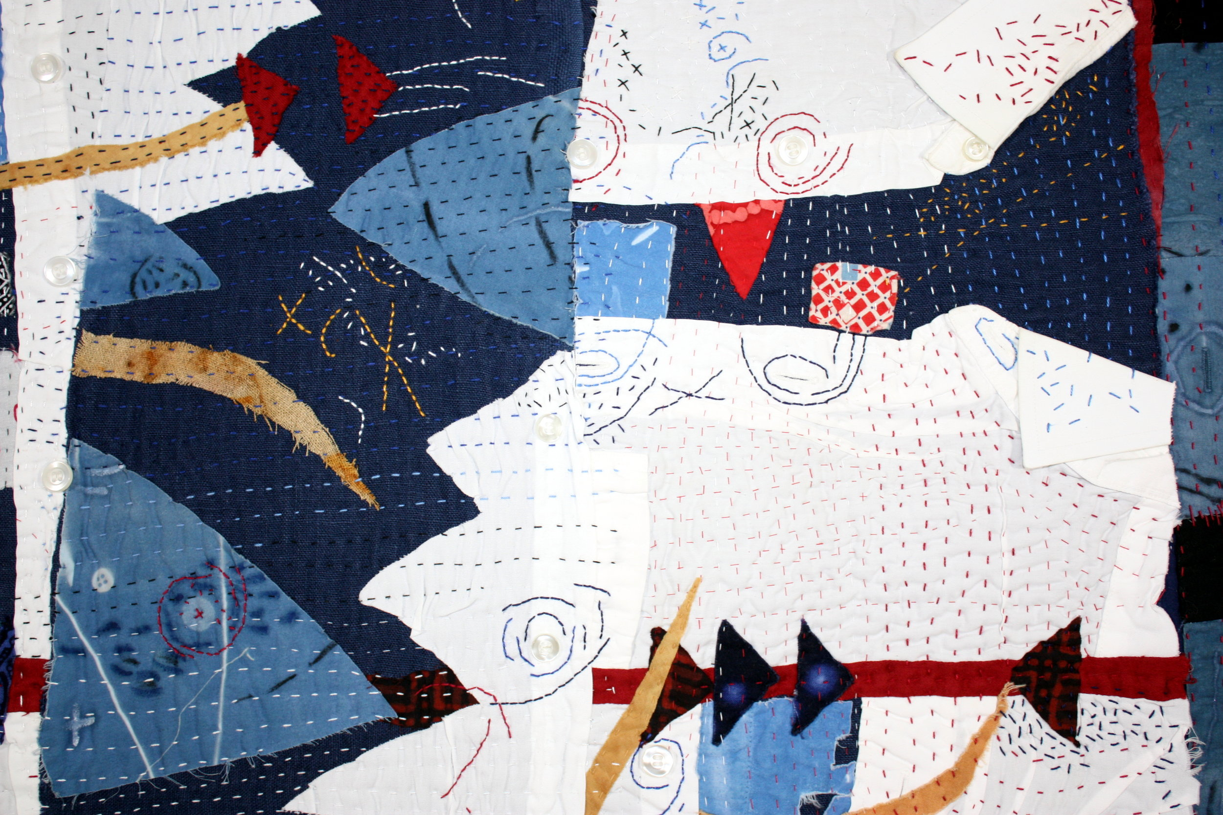Starched and Pressed , (detail)