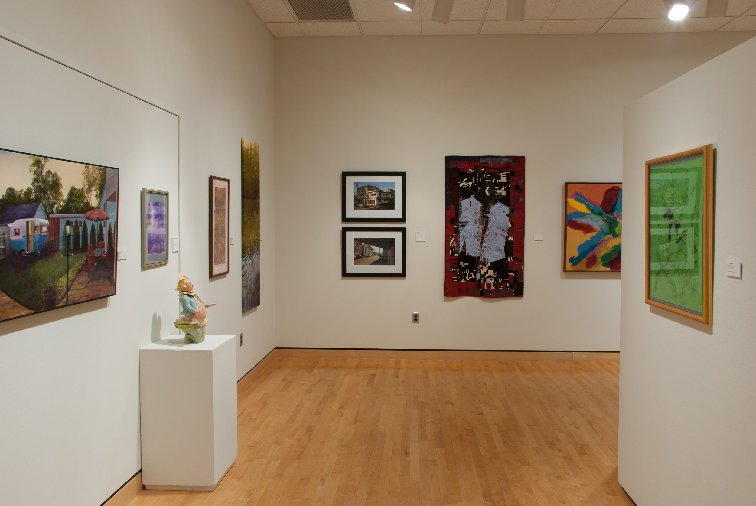 My piece,   Outspoken  , is included with the works of 20 IWCA members at the South Bend Museum of Art.