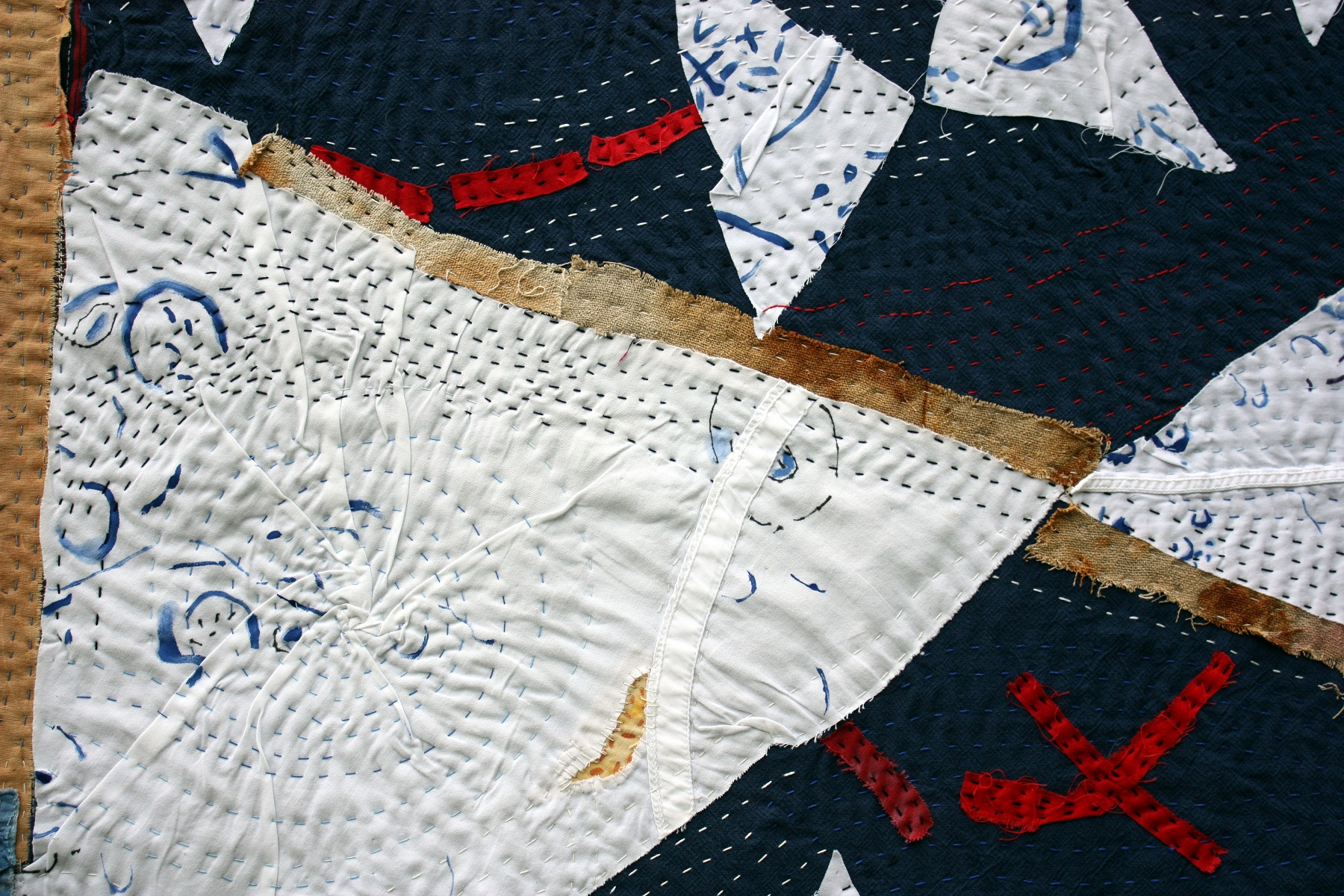 Helen Geglio,  Line Dried  (detail)