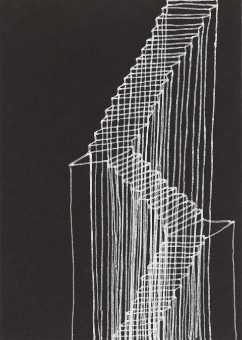 Rachel Whiteread, Stairs (1995), Private Collection © Rachel Whiteread