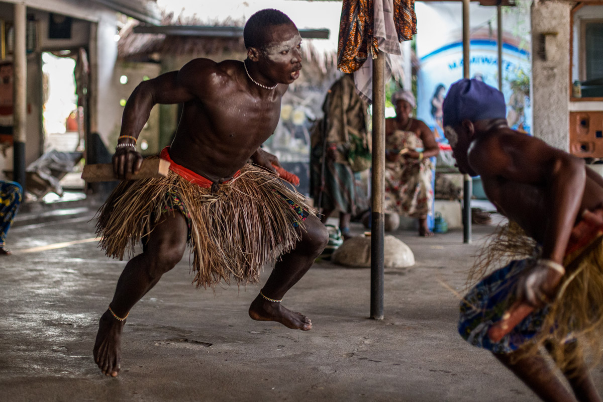 Ghanian culture is central to the work done by MMT.