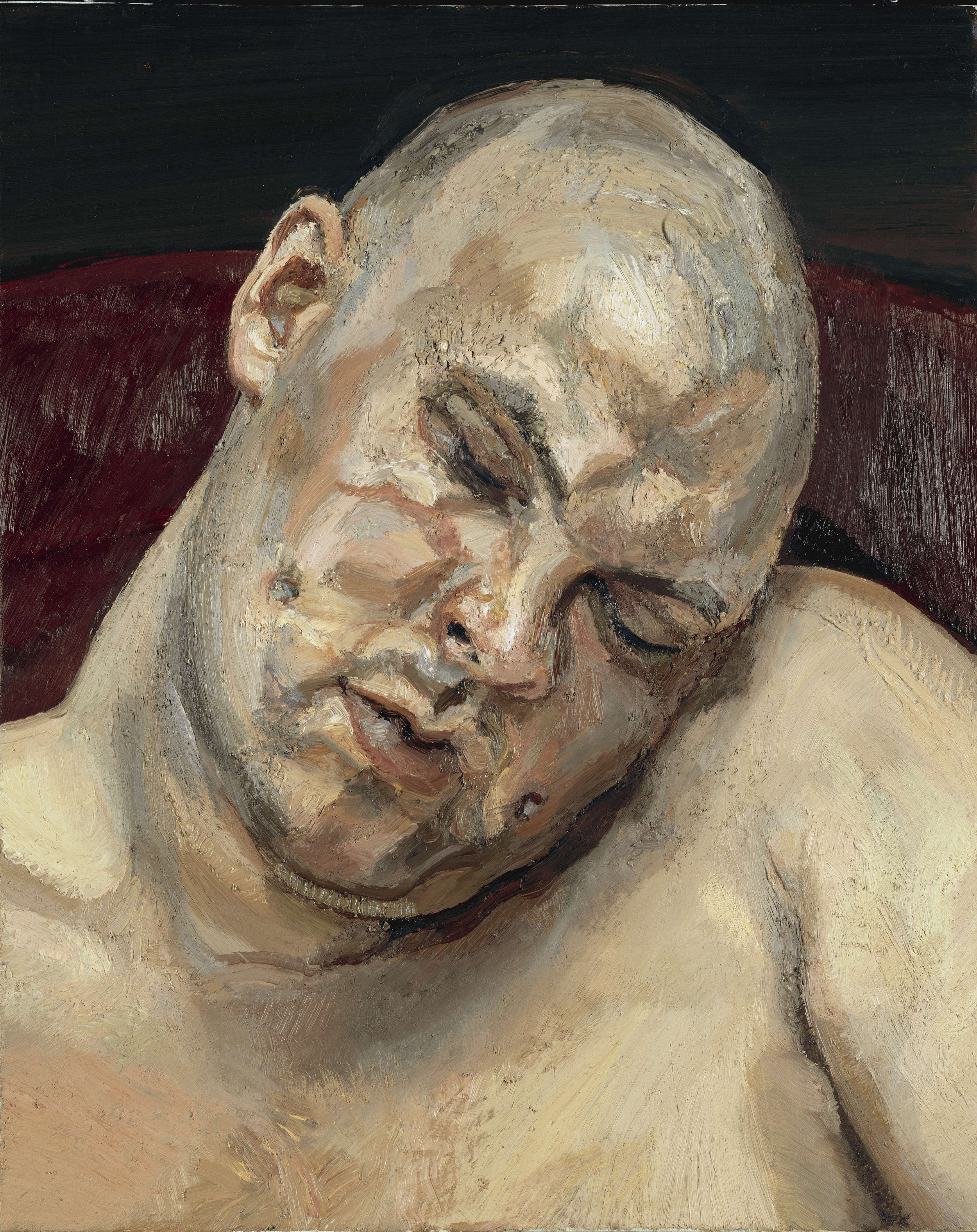 Leigh Bowery  by Lucian Freud (1991)